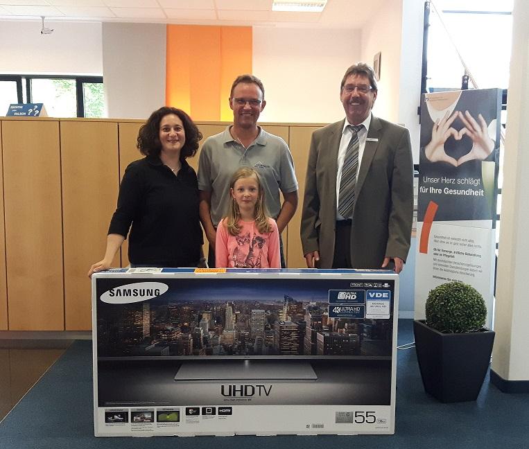Alexander Leibinger aus Kolbingen gewinnt Samsung LCD-TV